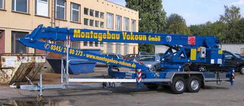 Montagebau Vokoun Kranvermietung